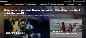 Bonusdiilit.com screenshot